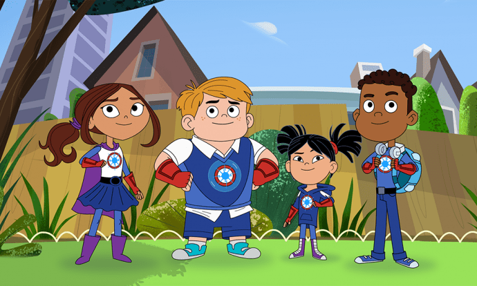 Hero Elementary serie animada de PBS Kids